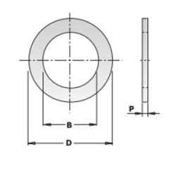 ANELLO RIDUZIONE X LAME D.30-20 SP.1.4