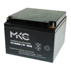 ACCUMULATORE 12V 25AH MKC12250