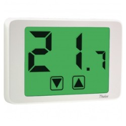 TERMOSTATO AMBIENTE TOUCH SCREEN THALOS 230 BIANCO