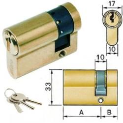 1/2 CILINDRO SAGOMATO MM.43,5 33,5-10 CIL1640EURO