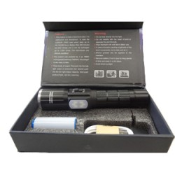 TORCIA A LED MULTIFUNZIONE + CAVO USB POWER STYLE FA-W528