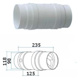 ASPIRATORE ASSIALE X CAPPE E CANALI D.100/120 AS1012X