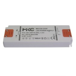 ALIMENTATORE X LED 50W 24V MKC50-24VF