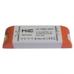 ALIMENTATORE X LED 75W 24V MKC75-24VL