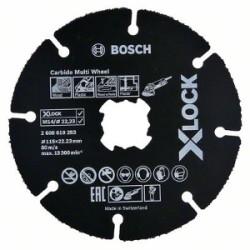 DISCO DA TAGLIO UNIVERSALE MM.115X1,6 X-LOCK CARBIDE MULTI WHEEL